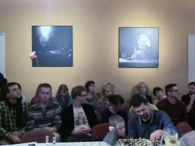 Účastníci na debatě v cyklu Kabinet Havel v divadle Husa na provázku. Autor: Kateřina Šafářová